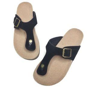 Cork Sole Thong Sandals Birkenstock Dupes